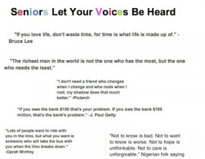 quotes for farewell to seniors