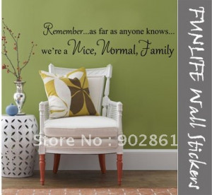 Give Some Quotes Wall Decals in Living Room Wall Decoration Ideas