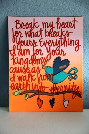 Custom Scripture or Quote Painting - 11