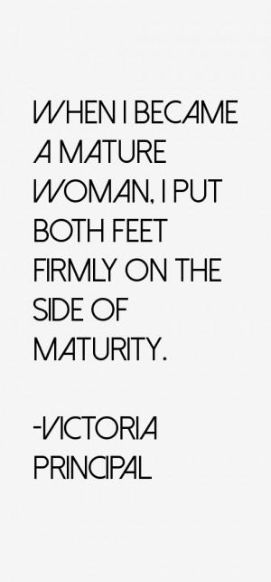 Victoria Principal Quotes amp Sayings