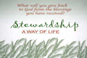 stewardship is a way of life stewardship is a conversion of heart ...