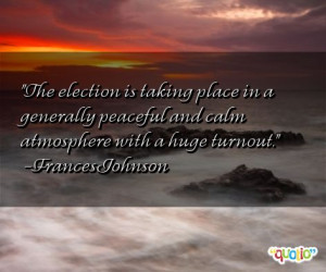 Famous Quotes About Election Quotations