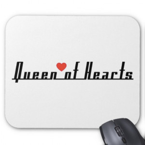 Queen of Hearts Mouse Pads