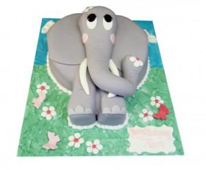 Cute Elephant Cake   Cute Elephant Birthday Cakes Delivery Essex ...