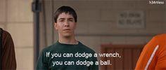 Dodgeball hahahahaha My favorite part of the movie *dies*