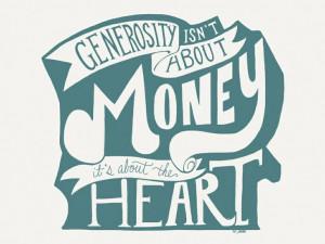 Generosity - Quote by Pastor Pete Hise.Generosity Quotes, Genero ...