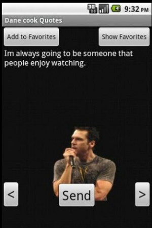 View bigger - Dane Cook Quotes for Android screenshot