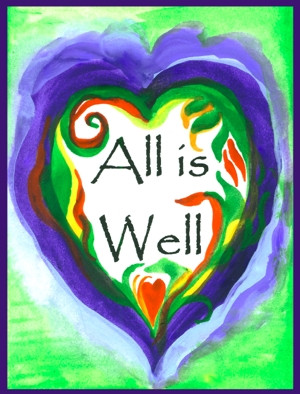 All Is Well Quotes Eyesforyourimage Picture