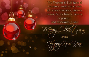 ... Family, Friends, Donors, Supporters And Associates, A Very Merry