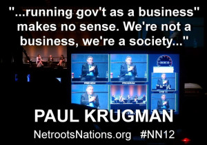 Paul Krugman - someone to listen to
