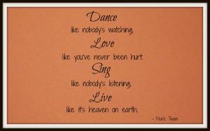 Old School Quotes DanceLoveSingQuote