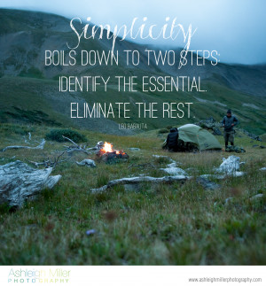... , Boils Down To Two Steps Identify The Essential Eliminate The Rest