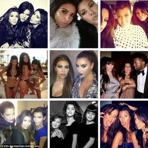 love you soooo much!': Kim Kardashian leads the way in birthday ...