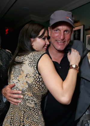 ... to Woody Harrelson - after seeing he had a yoga swing in his trailer