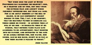 John Calvin Quotes On the Bible