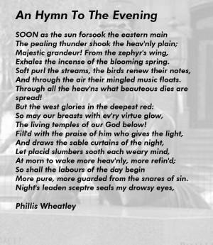 Phillis Wheatley Poems - screenshot