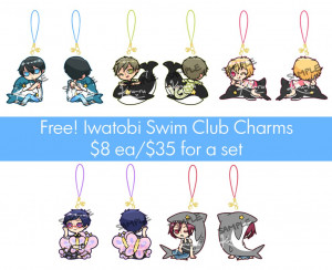 Free Iwatobi Swim Club Art