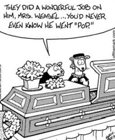 wednesday funeral funny heritage funeral homes crematory and ...