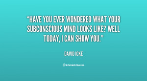 Have you ever wondered what your subconscious mind looks like? Well ...