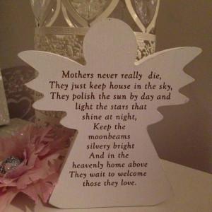 Birthday Quotes For Mom In Heaven Mother (nana/grandma) in