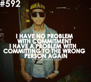 Rapper, tyga, quotes, sayings, life, wrong person