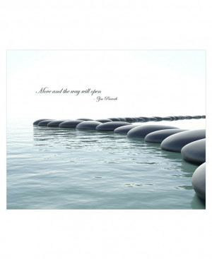 Zen Decor: Buddhist Quotes Aluminum Wall Panels - Wall Hangings