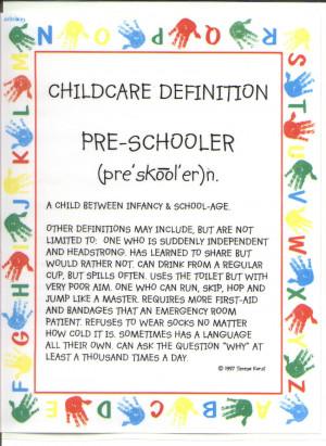 Child Care Definition