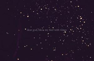 dark, fear, light, night, quote, sky, stars