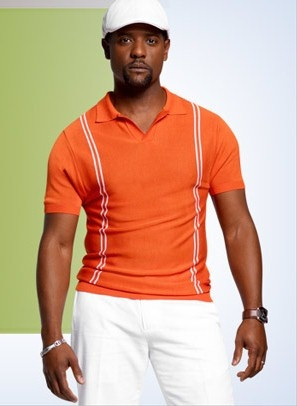 Blair Underwood wearing his exclusive K spring collection #orange # ...