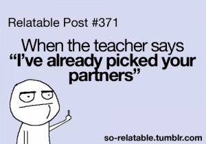 When Teachers Say