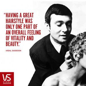 Vidal Sassoon Quote