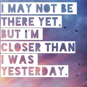 may not be there yet. But I'm closer than I was yesterday. #potsc # ...