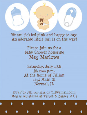 Shop our Store > Baby Boy Shower Invitations