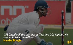 36. The ex-English cricketer praises our ex-Test captain.
