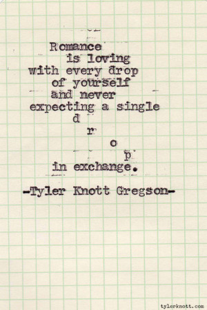 tyler knott gregson love quotes
