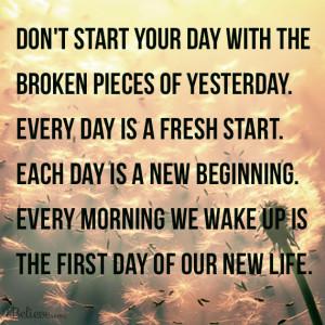 It's the start of a new day, a new week, a new month and pretty ...