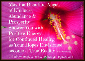 May the Beautiful Angels of Kindness Shower You | Inspirational Quotes