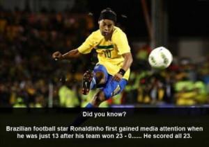 ronaldinho soccer quotes