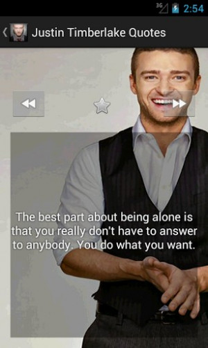 View bigger - Justin Timberlake Best Quotes for Android screenshot