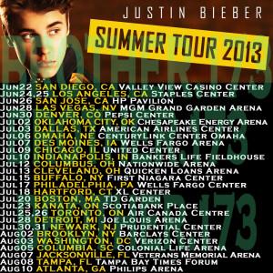 Justin Bieber Tour Shirts