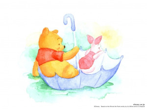 Winnie the Pooh Pooh & Piglet