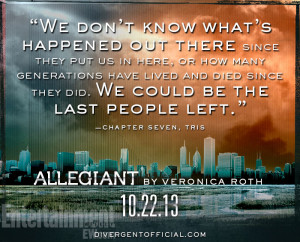 ... the first sneak peek inside 'Allegiant' by Veronica Roth -- EXCLUSIVE