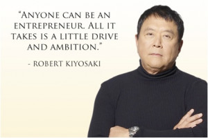 Anyone can be an entrepreneur. All it takes is a little drive and ...