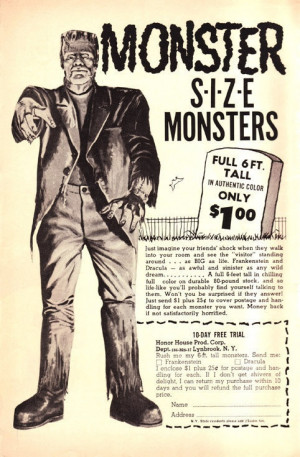 ... Book, Frankenstein Monsters, Basements Step, Famous Monsters, Comics