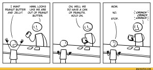 LOOKS PEANUT BUTTER LIKE WE ARE ANP JELLV7 OUT OF PEANUT,comics,funny ...