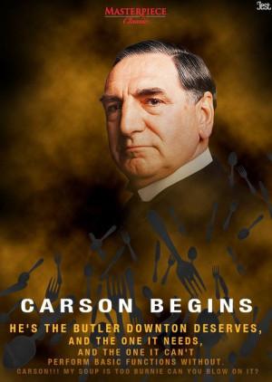 Carson the Butler ~♣ #carson. #downtonabbey
