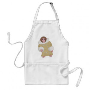 Darwin the Ikea Monkey Adult Apron