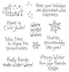 cute snow sayings