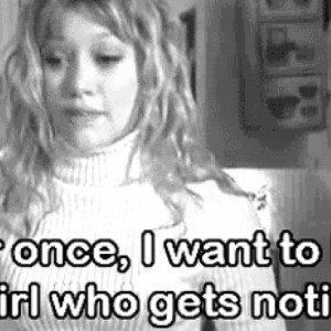 Hillary Duff Wants To Be The Girl That Gets Noticed On Lizzie Mcguire