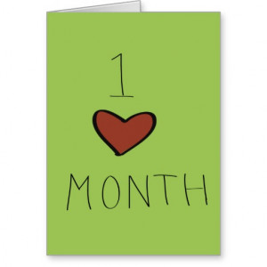 One Month Anniversary Quotes For Him For Husband For Boyfriend For ...